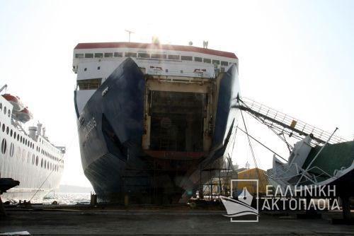 Colossus (ex. Shuttle) - Dry Docking