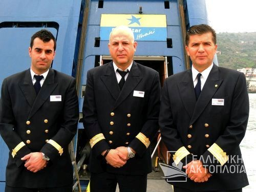 chief purser and purser crew