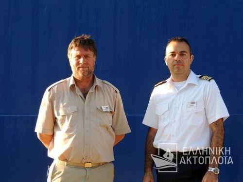 Blue Star Patmos - Crew
