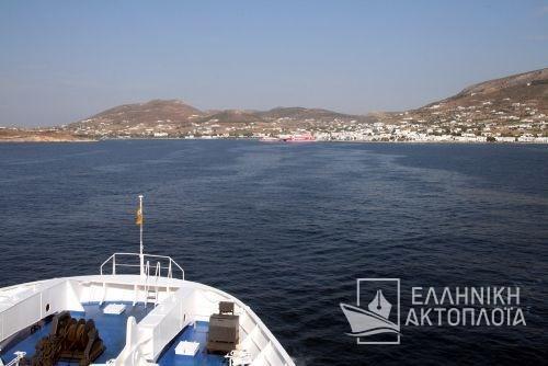 the port of Paros