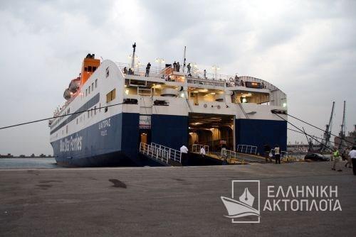 the port of Thessaloniki