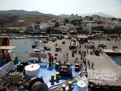 the port of Andros