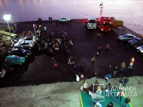 the port of Karpathos