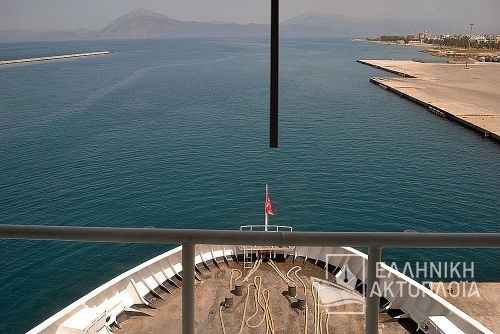 port of Patras-arrival