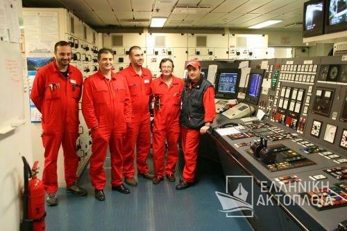 engine room officers