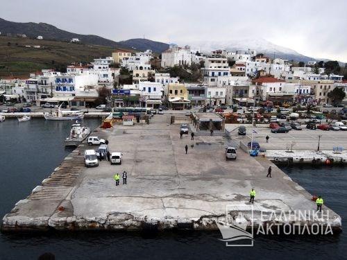 port of Andros (Gavrio)