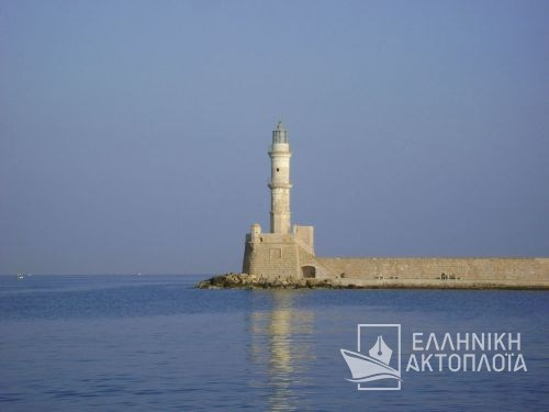 old port of chania-lighthouse