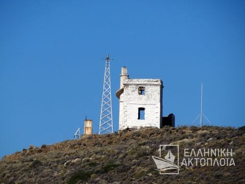lighthouse of gavrio (andros)