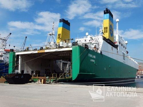 Alexo (ex.Finnland)-Dry Docking