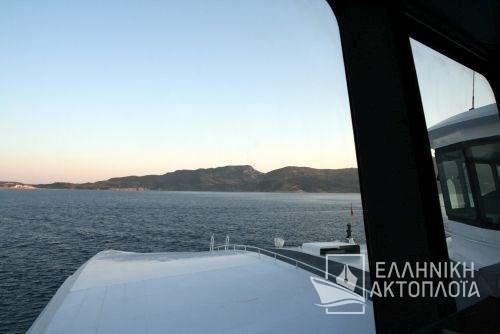 arrival in Milos