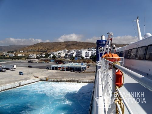 port of call in Tinos
