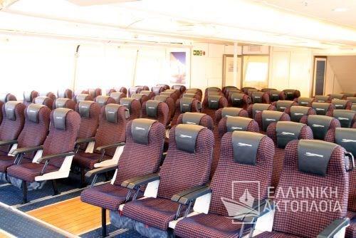 upper passenger deck