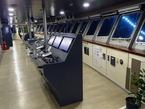 Nissos Samos-Deck 9-Wheelhouse