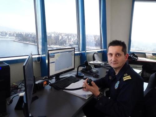 Υποδιοικητής V.T.S. Piraeus, Ανθυποπλοίαρχος Λ.Σ. κ. Μιχαήλ Κόκκινος