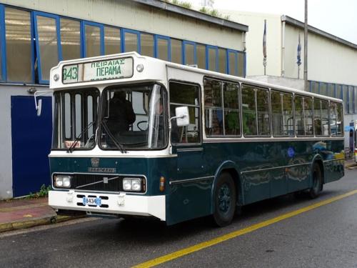Green Bus-Bus Oldtimers Hellas