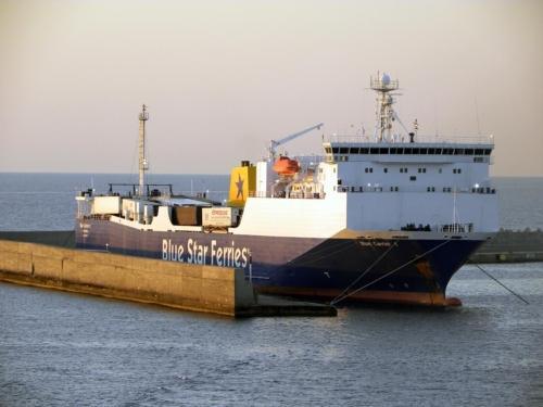 Blue Carrier 1 - Photos