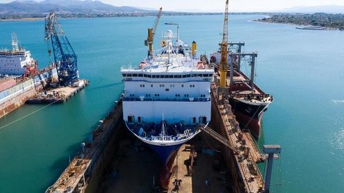 Blue Carrier 1 - Dry Docking