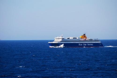 blue star naxos