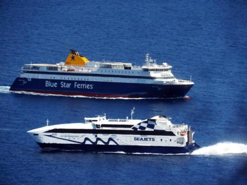 blue star paros-worldchampion jet