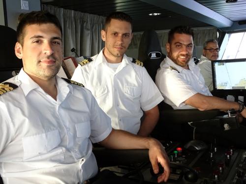 bridge & engine officers
