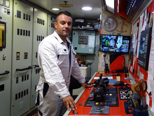 chief engineerκ. Αντώνης Λεοντίτσης