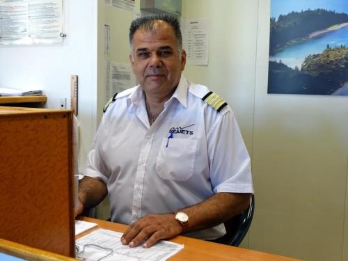 chief steward κ. Αθανάσιος Παρασκευόπουλος