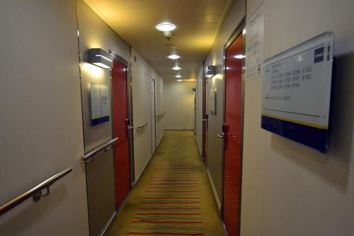 corridor cabins