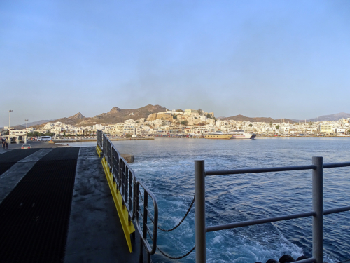 departure from Naxos