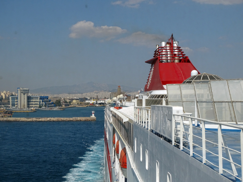 departure from Piraeus