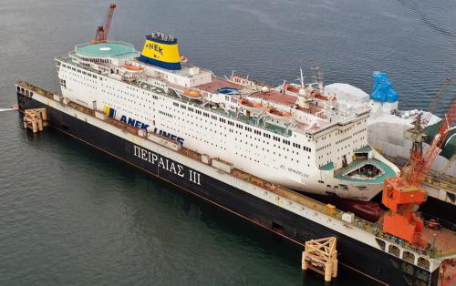 Eleftherios Venizelos - Dry Docking