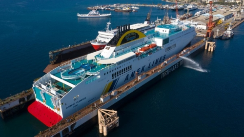 fast ferries andros-olympic champion