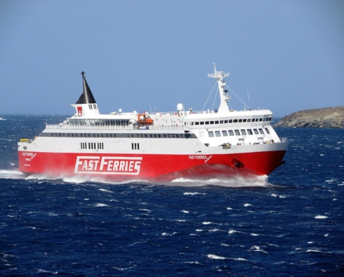 fast ferries andros
