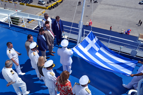 inauguration ceremony-Mykonos Palace