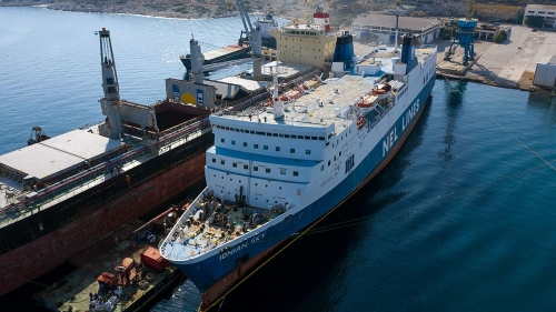 Ionian Sky - Dry Docking