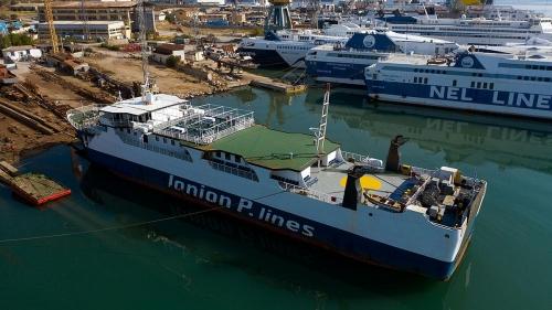 Ionion Pelagos-Dry Docking