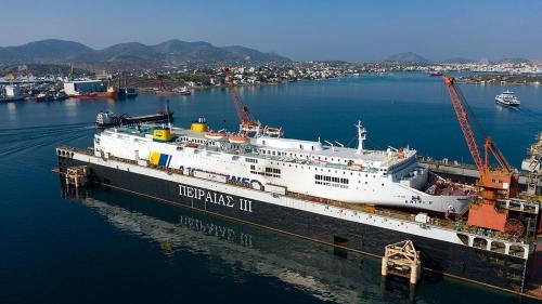 Kriti II - Dry Docking