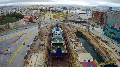 Nearchos-Dry Docking