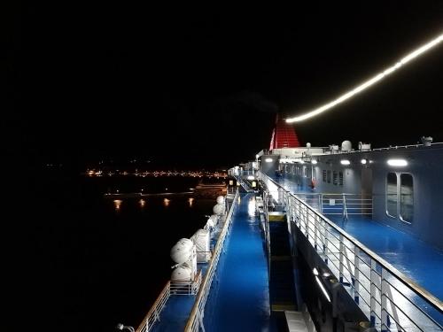 departure from Aignoussa (Oinousses)