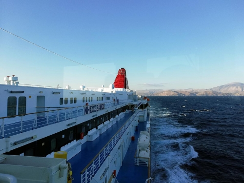 departure from Chios