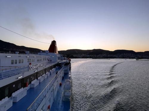 departure from Mytilene