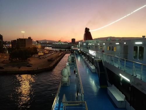 arrival in Piraeus