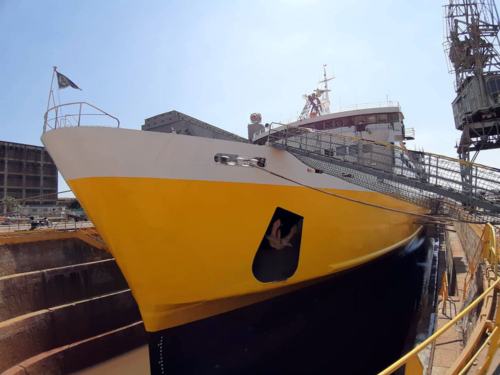 Kefalonia (ex.Nissos Kefalonia, Kefalonia) - Dry Docking