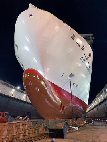 """OLYMPIC CHAMPION-DRY DOCKING-11/2018"""