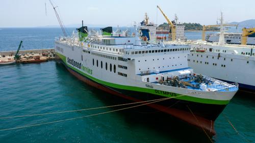 Olympus (ex.Elli T.) - Dry Docking