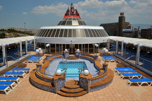 Mykonos Palace-Pool Bar
