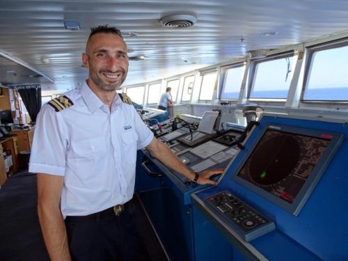 staff captain Cpt Χρήστος Ψωμιάδης