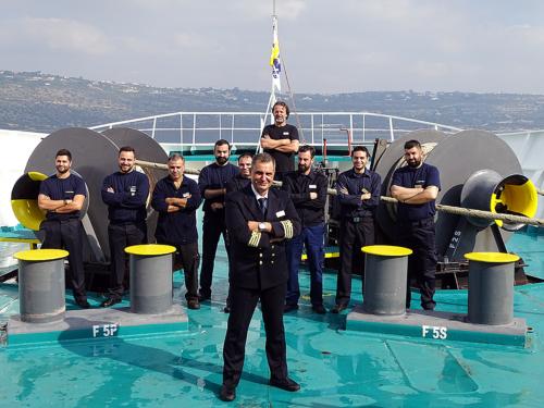 staff capten-botswain-deck crew
