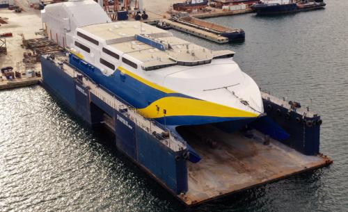 Super Express (ex.Golden Express) - Dry Docking