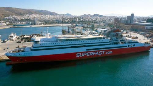Superfast XI - Dry Docking