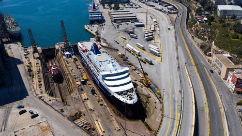 Superferry (ex. Golden Ferry,Kogane Maru) - Dry Docking